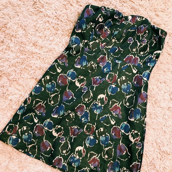 American Eagle Outfitters Dresses & Skirts - NWT American Eagle Brown Strapless Floral Dress